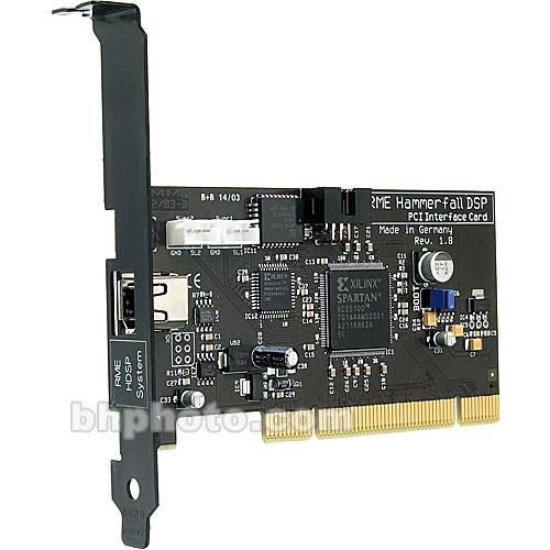 RME  PCI Interface - PCI Card for HDSP System PCI