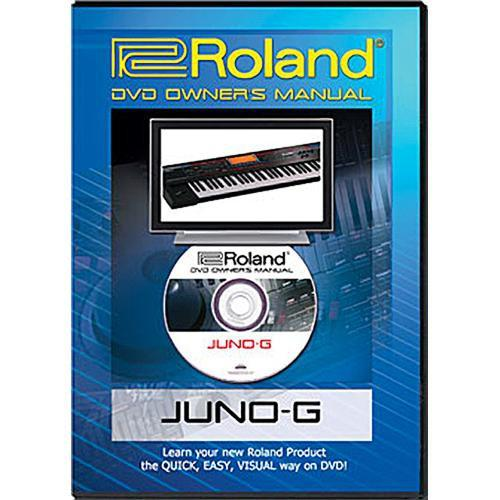 Roland DVD: Owner's Manual for Juno-G Key Synthesizer JUNO-GDVM