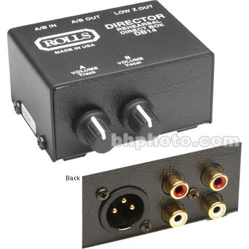 Rolls DB14 Director Stereo Direct Box/Signal Separator DB14B