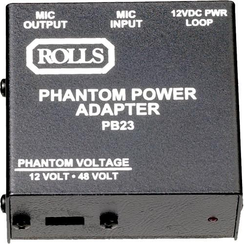 Rolls PB23 - Single Channel Phantom Power Supply PB23
