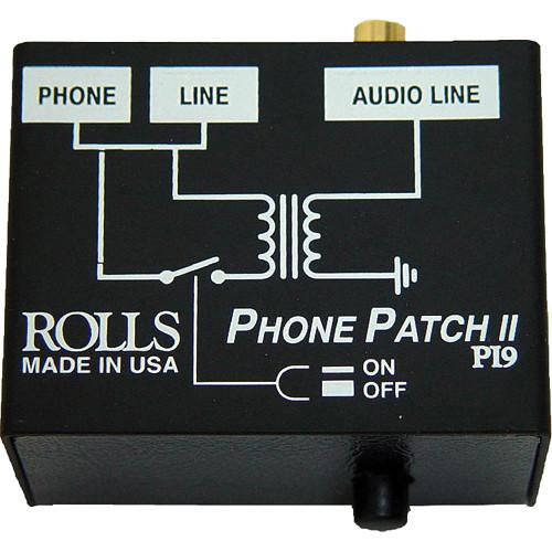 Rolls PI9 Phone Patch II Telephone Output Adapter PI9