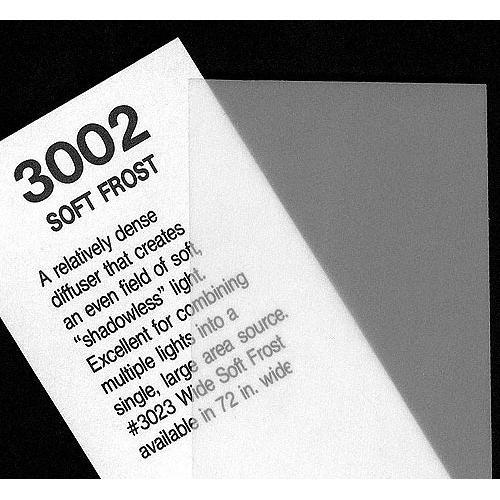 Rosco #3002 Soft Frost Fluorescent Sleeve T12 110084014812-3002