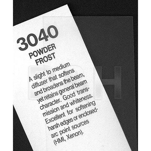 Rosco #3040 Filter - Powder Frost - 48