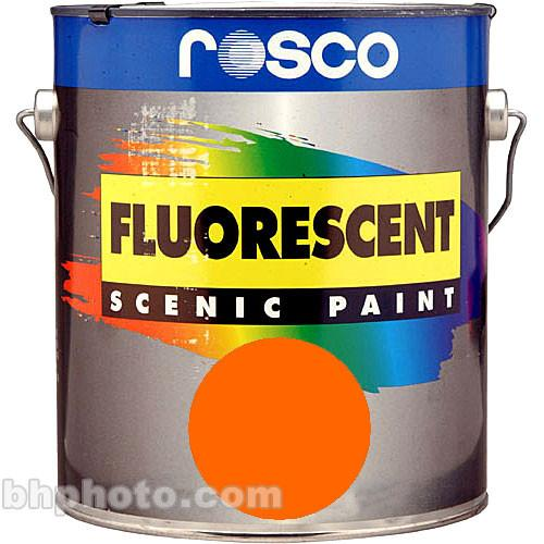 Rosco  Fluorescent Paint - Orange 150057810016