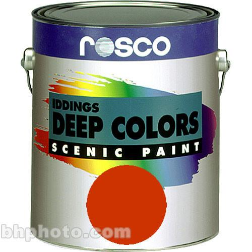 Rosco Iddings Deep Colors Paint - Bright Red 150055620128