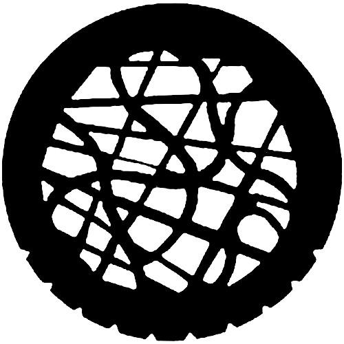 Rosco Steel Gobo #7747 - Tangle - Size A 250777471000