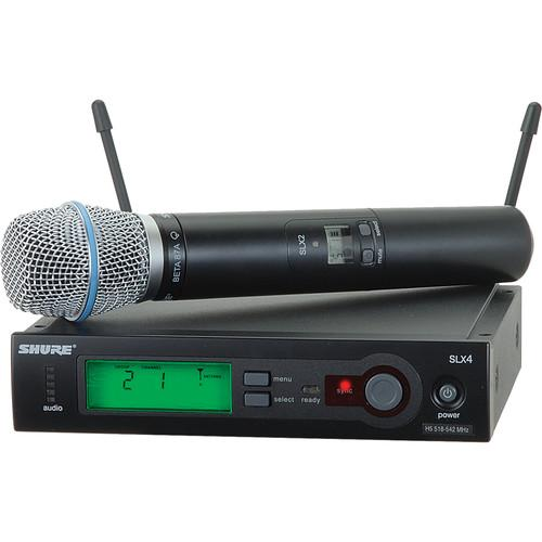 Shure SLX Series Wireless Microphone System SLX24/BETA87A-H5
