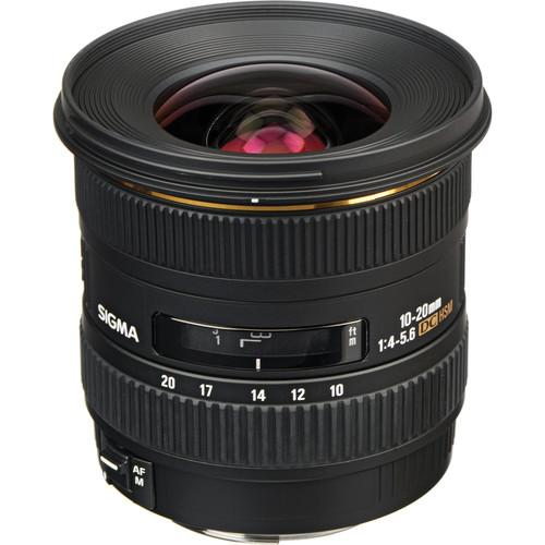 Sigma 10-20mm f/4-5.6 EX DC HSM Lens for Canon EF Mount 201101