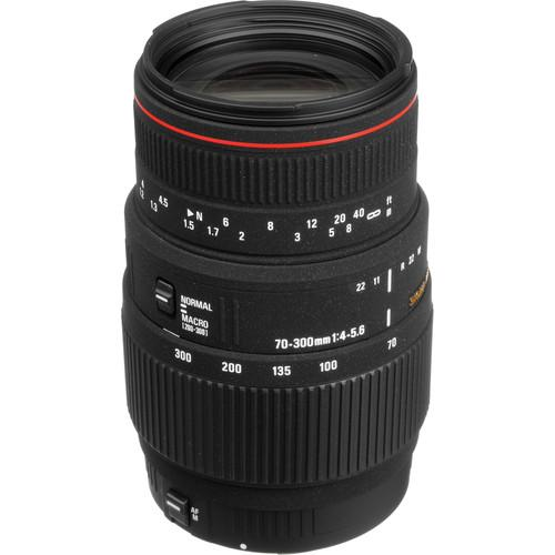 Sigma 70-300mm f/4-5.6 APO DG Macro Lens for Canon EOS 508101