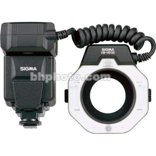 Sigma EM-140 DG Macro Ringlight Flash for Canon EOS F309101
