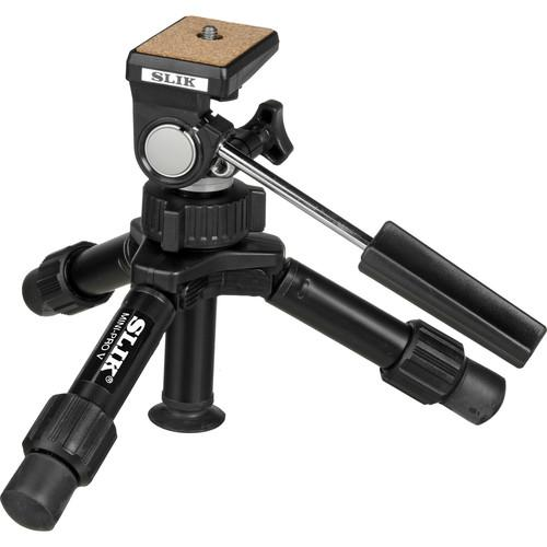 Slik Mini-Pro V Tripod with 2-Way Pan/Tilt Head - 611-352