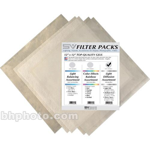Smith-Victor D-Pack Diffusion Filter Assortment - 12 x 650022