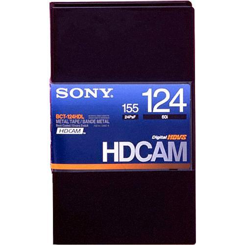 Sony BCT-124HDL HDCAM Videocassette, Large BCT124HDL