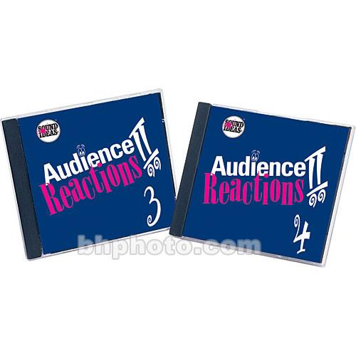 Sound Ideas Sample CD: Audience Reaction II SI-AR-2