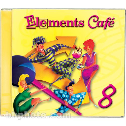 Sound Ideas Sample CD: Elements Cafe 8 - 1 CD Audio M-SI-EC-8