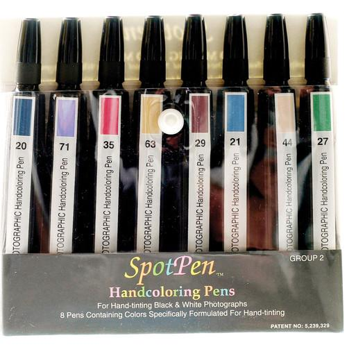 SpotPen  Hand Coloring Pen Set Group 2 SOHCGRP2