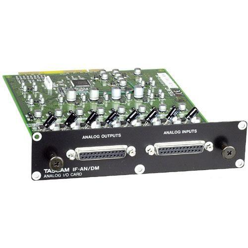 Tascam IFAN/DM 8 Channel Analog I/O Expansion Card IFAN/DM