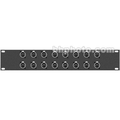 TecNec  16XRJ45 Patchbay RJ-45 Connectors 16XRJ45