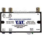 Vac 1x2 Composite Video Distribution Amplifier 11-114-102