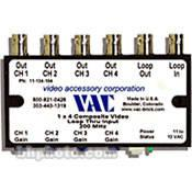 Vac 1x4 Composite Video Distribution Amplifier 11-134-104