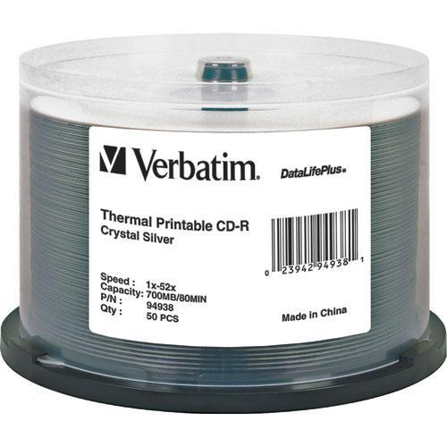 Verbatim  CD-R Crystal Thermal Disc (50) 94938
