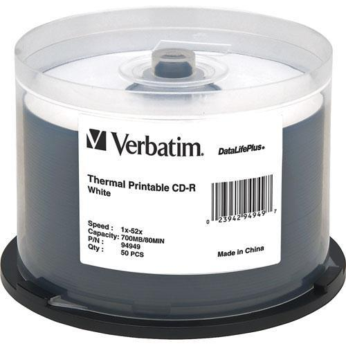 Verbatim  CD-R White Thermal Disc (50) 94949