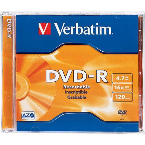 Verbatim  DVD-R 4.7GB Disc 95051