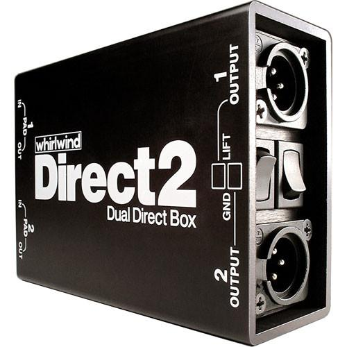 Whirlwind  DIRECT2 Direct Box DIRECT2