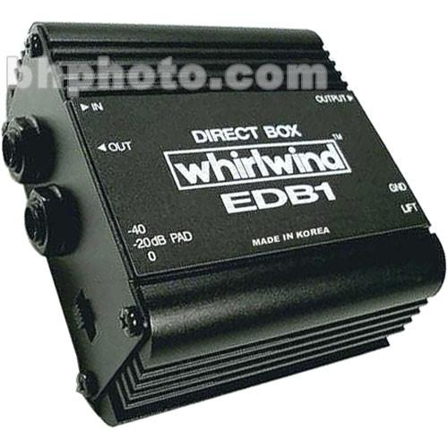 Whirlwind EDB1 - Single Channel Economy Direct Box EDB1