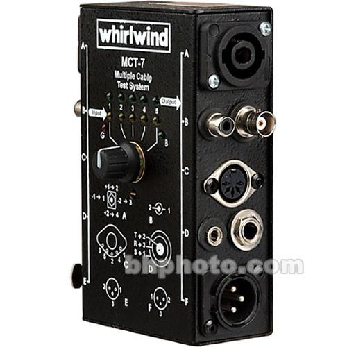 Whirlwind MCT7 - Multi Connector Cable Tester MCT-7