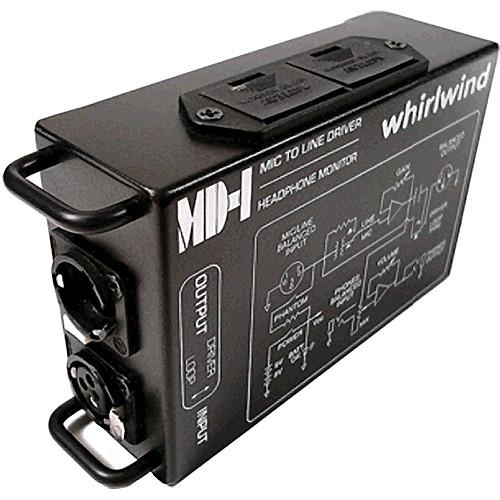 Whirlwind MD1 - Single Channel Microphone Preamp MD-1