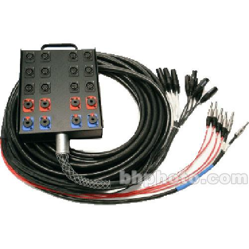 Whirlwind Medusa Power Series 12 Channel Snake Cable - MP-12-100