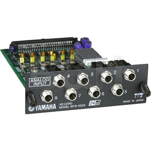 Yamaha MY8AD24 - 24 Bit 8 Channel Analog Input Card MY8AD24