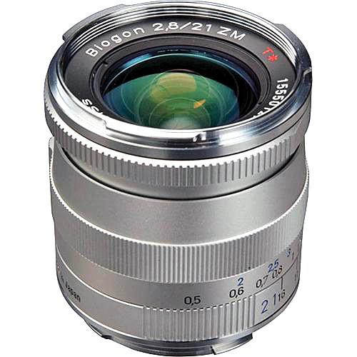 Zeiss  21mm f/2.8 ZM Lens - Silver 1365-650