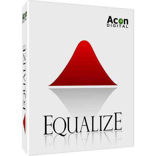Acon Digital Equalize - Parametric Equalizer Plug-In 11-30209