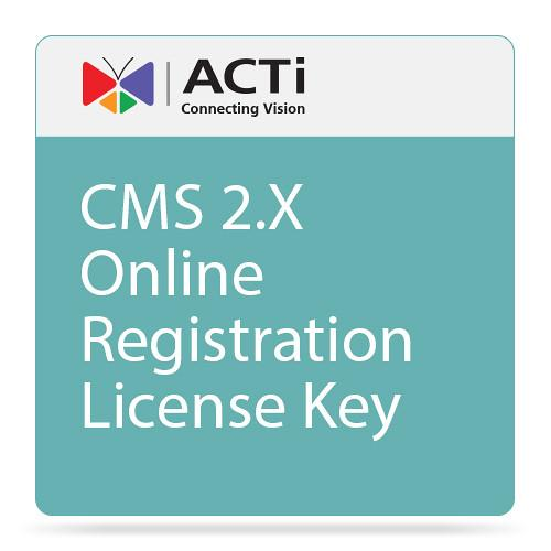 ACTi CMS 2 Additional Channel License Key LCMS2000