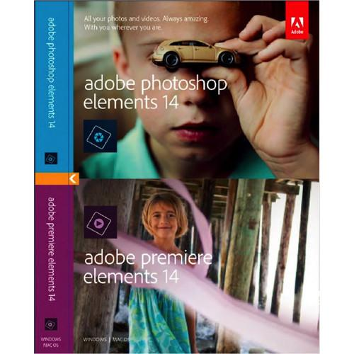 Adobe Photoshop Elements 14 and Premiere Elements 14 65263930