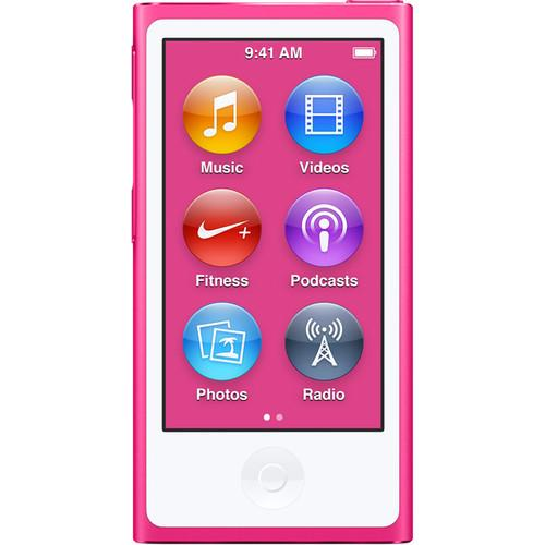 Apple 16GB iPod nano (Pink, 7th Generation, 2015 Model)