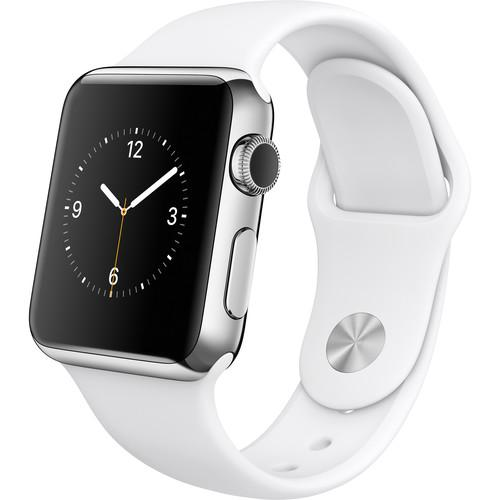 Apple  Watch 38mm Smartwatch MJ302LL/A