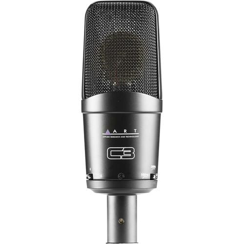ART C3 Cardioid FET Condenser Mic With 3-Polar Pattern C3
