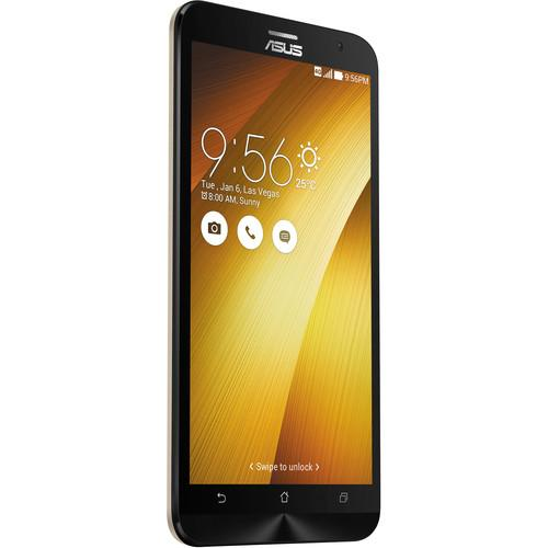 ASUS Sheer Gold ZenFone 2 ZE551ML 64GB Smartphone Kit with Gold