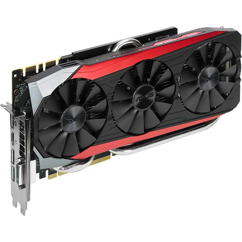 ASUS Strix GeForce GTX 980 Ti Graphics STR-GTX980TI-DC3OC-6GD5-G