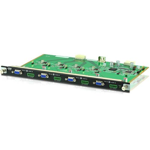 ATEN 4-Port VGA Input Board for VM1600 Modular Matrix VM7104