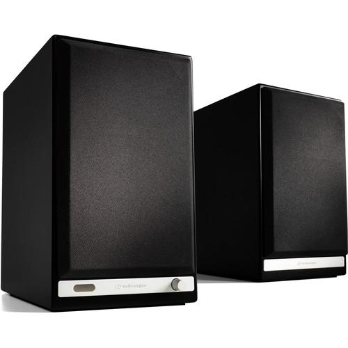 Audioengine HD6 Powered Speakers (Pair, Satin Black) HD6-BLK