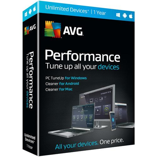 AVG Performance 2016 (Download, 1-Year) PER16N12EN