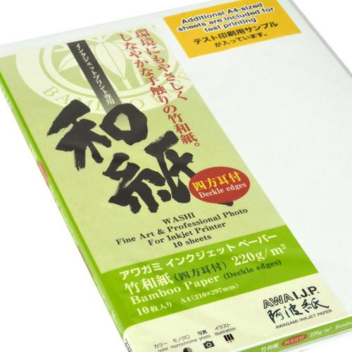 Awagami Factory Bamboo Deckle-Edge Fine-Art Inkjet Paper 2135614