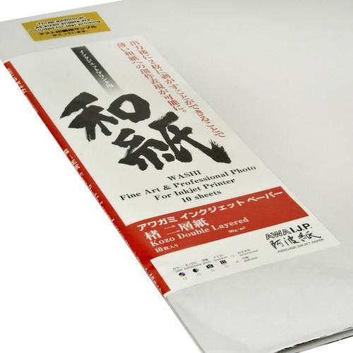 Awagami Factory Kozo Double-Layered White Fine-Art 213551200
