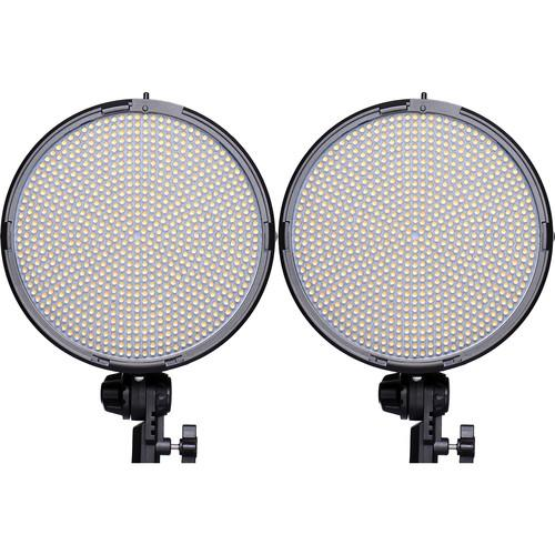 AXRTEC AXR-R-800BVx2 Bi-Color LED Round 2-Light Kit