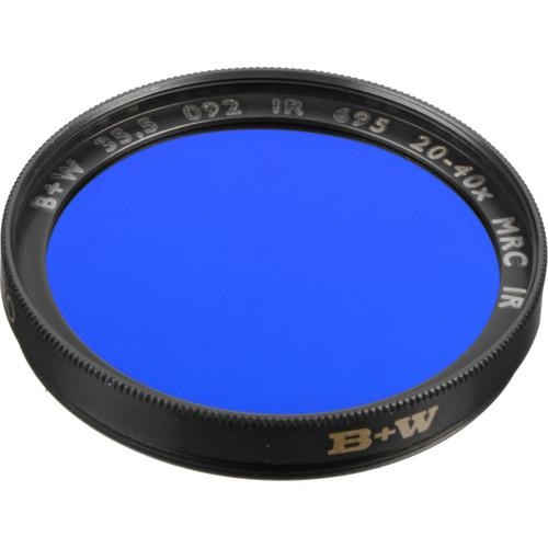 B W  35.5mm IR Dark Red (092M) MRC Filter 72226