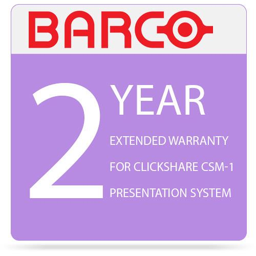 Barco 2-Year Extended Warranty for ClickShare CSM-1 R9805970